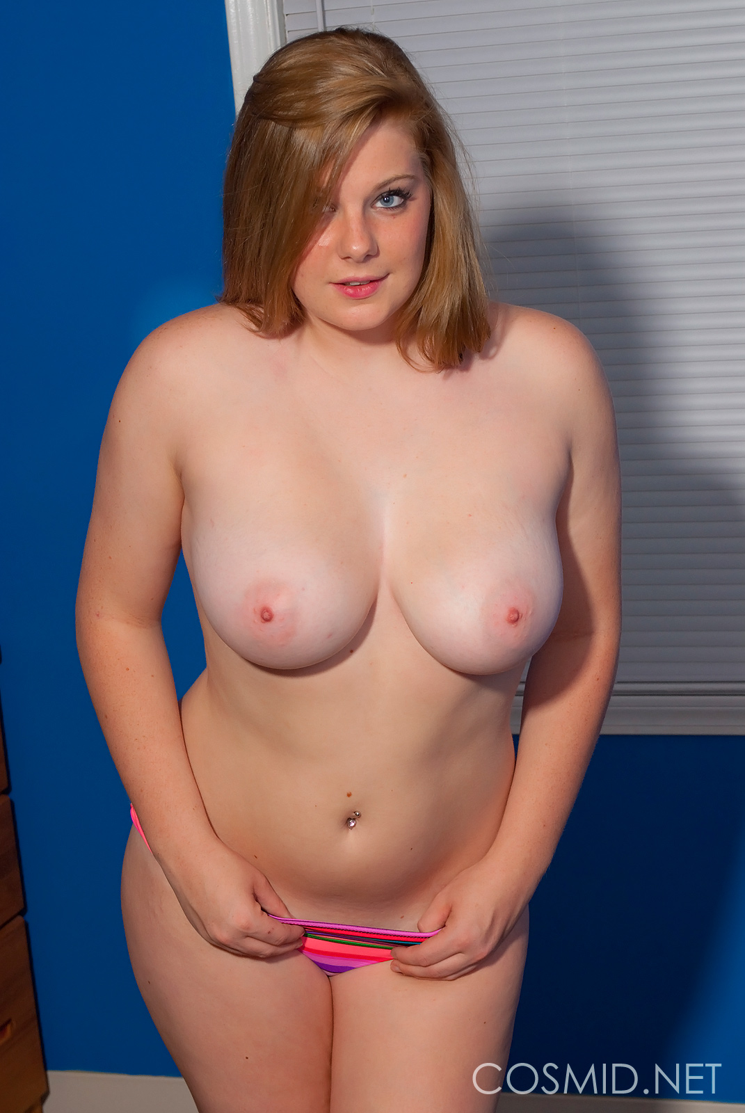 All natural plump maggie green gets cum on her huge hot tits 3
