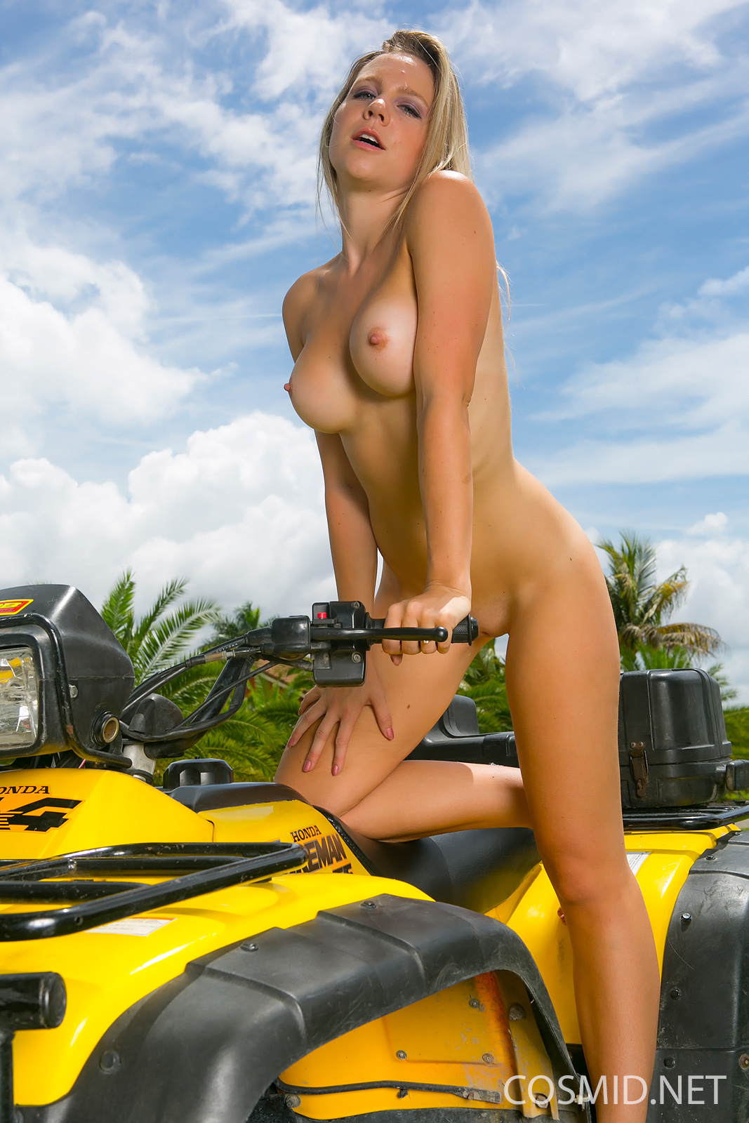 Topless chick on atv, the foundry cams redheadtures